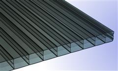 Braun-Bronce-Polycarbonat-Stegplatten