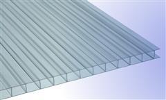 Glasklar-Polycarbonat-Stegplatten