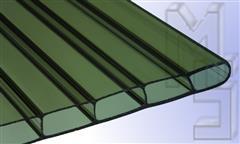 Hbraun-bronce-IGHLUXAcrylglasStegplatte-PlexiglasRohmasse16mmbronceStruktur2Fach32mmStegabst