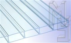glasklar-HIGHLUXAcryglasStegplatte-PlexiglasRohmasse16mmklarStruktur2Fach32mmStegabst